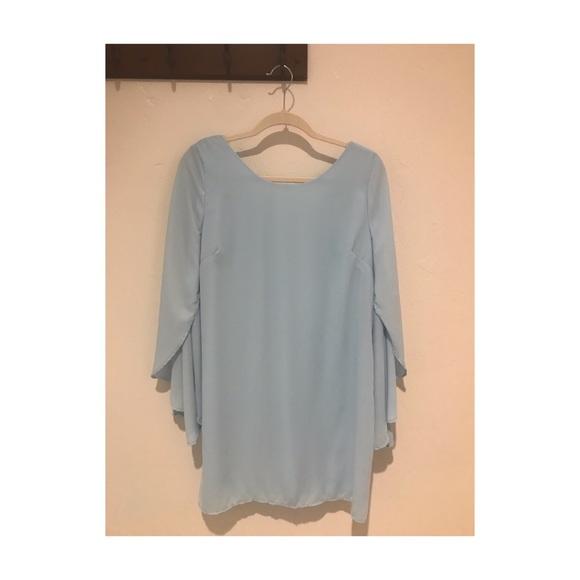 Charlotte Russe Dresses & Skirts -   Light Blue Charlotte Russe Dress  